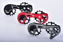 2017 DECKAS Road bicycle rear derailleur pulleys Steel bearing jockey wheels 15T-15T FOR SHIMANO/ RD 9000 / 9070/6800/6870 цена в Москве и Питере