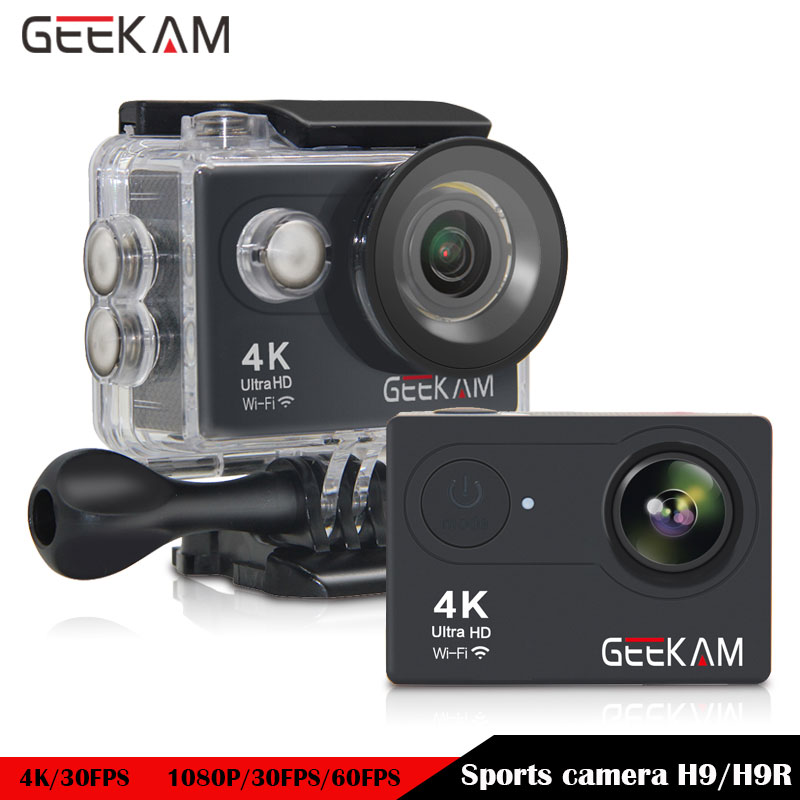 GEEKAM V9 V9R WIFI Action Camera 1080P HD 30fps 720P 60fps 2 0 LCD 140D lens