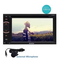 Eincar Android 5 1 Octa Core DDR3 2GB RAM Head Unit 2Din Car DVD Stereo GPS