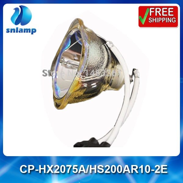 Replacement projector lamp CP-HX2075A/HS200AR10-2E for CP-HX2075A CP-HX3180 CP-HX3280 HCP-50X HCP-500X HCP-580X dt00751 replacement projector lamp with housing for hitachi cp x260 cp x265 cp x267 cp x268a hx 3180 hx 3188
