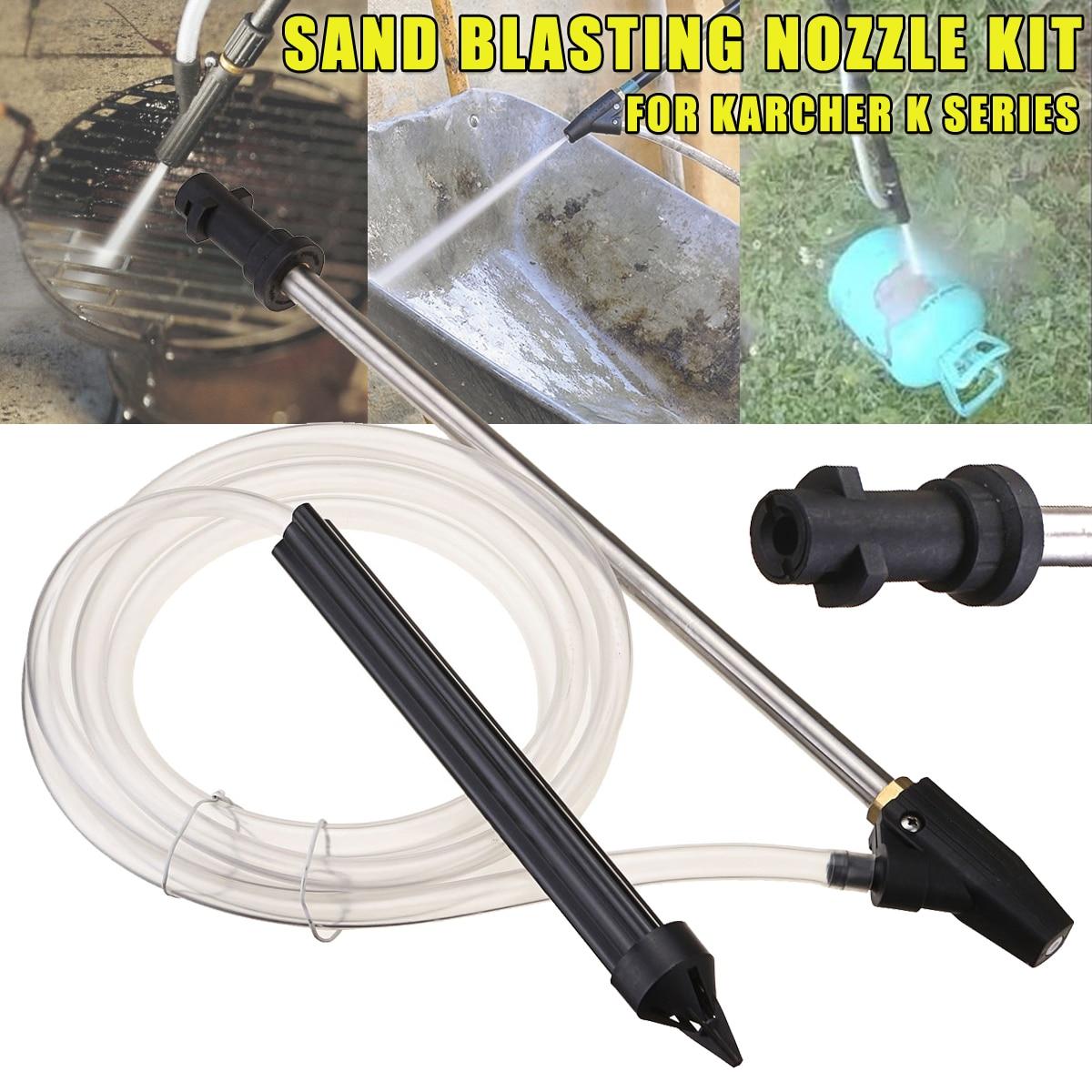 Portable Sand Blaster Wet Blasting Washer Sandblasting Kit For K K Series High Pressure Washers Blasting Pressure Gun|kit|kit kits  - AliExpress