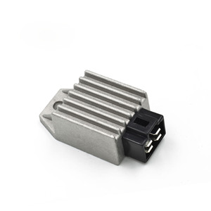 New Motorcycle Voltage Regulator Rectifier 12V 4Pin fit for Buggie with GY6 50cc 125cc 150cc Moped Scooter ATV Gokarts DQ-115(China)