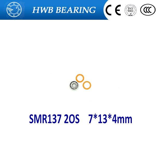 1PC 7X13X4mm SMR137 2OS  CB ABEC7  Stainless Steel Hybrid Ceramic Bearings/Fishing Reel Bearings SMR137C 2OS  SMR137-2RS 2pcs 7x13x4mm smr137 2os cb abec7 stainless steel hybrid ceramic bearings fishing reel bearings smr137c 2os smr137 2rs
