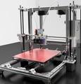 3d принтер алюминия diy kit reprap prusa i3 ДВА EXTRUDRS