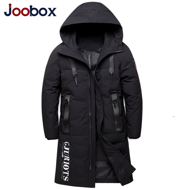 Winter Warm   Down   Jacket Hooded Thick Long Slim Duck   Down     Coat   Male Women/men Red Black Brand Clothes Plus Size 5XL Couple wear