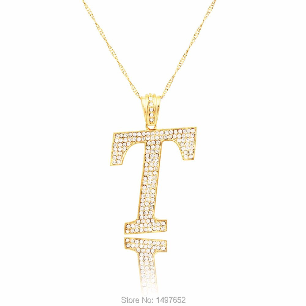 silver jewellers initial and pendant sterling online swarovski letter buy alphabet kataria plated t gold