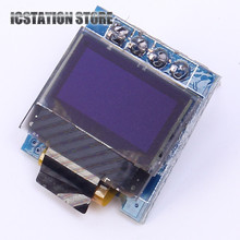 0.49″ Bright White / Blue OLED Module 64*32 64×32 4pin OLED Display Module 0.49Inch IIC I2C Interface For Arduino