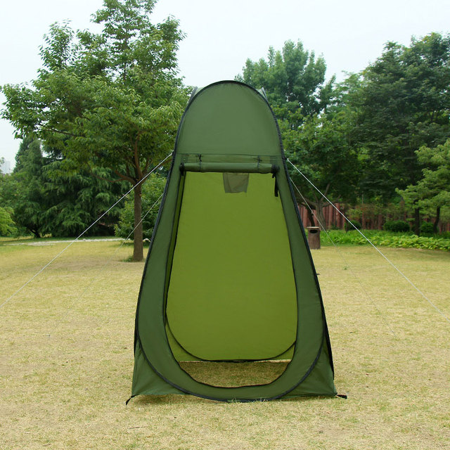 Portable Shelter C&ing Shower Bath Tent Outdoor Pop Up Privacy Tent Camouflage Change Clothes Tent Mobile Toilet-in Tents from Sports u0026 Entertainment on ... : privacy tents - memphite.com