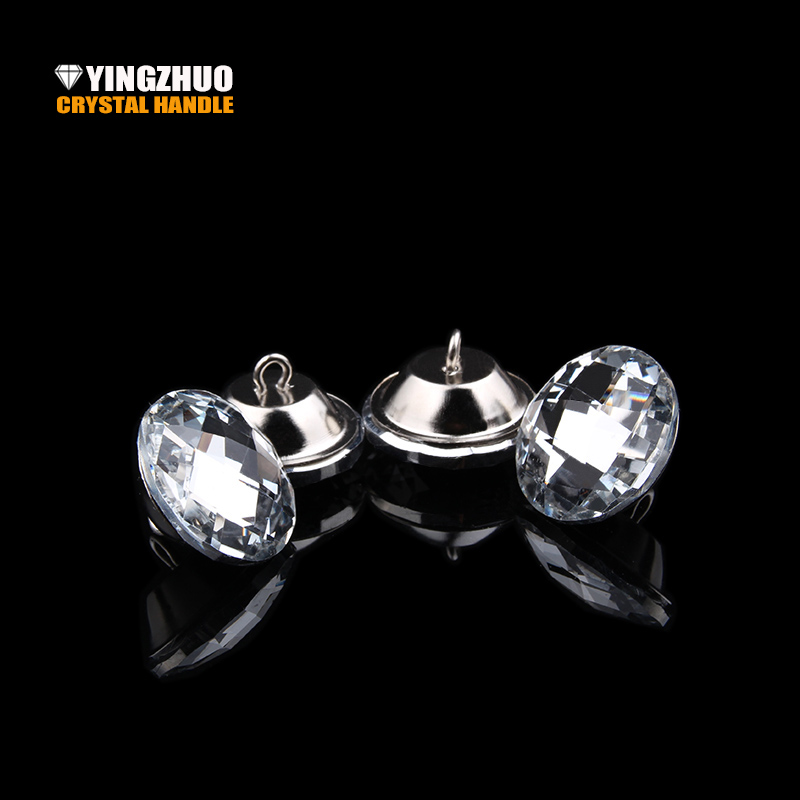 The Cheapest Price 8size 1000pcs Crystal Diamante Rhinestone Round Buttons Tufting Sofa Upholstery Headboard Wedding Embellishments Diamond Buckles Home & Garden