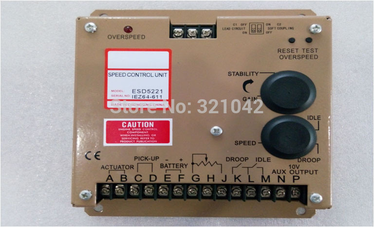 Engine Governor Speed Controller ESD5221 esd 5221 speed controller esd5221