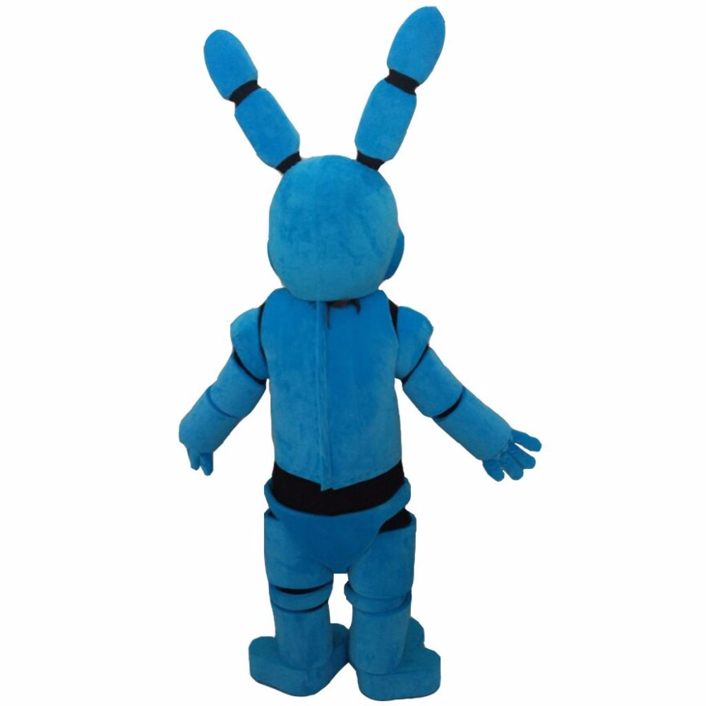 Fnaf bonnie costume for sale - Aliexpress Com Buy Custom Made Five Nights At Freddy S Fnaf Toy Bonnie Blue Mascot Christmas Party Mascot Birthday Gift Mascot Costume L0713 From Reliable