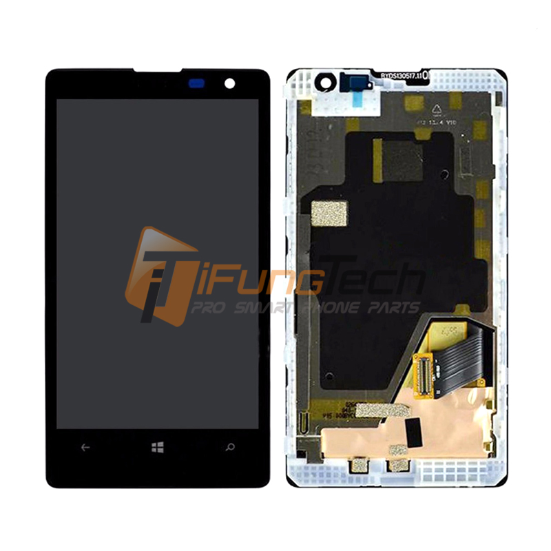 Подробнее о For Nokia Lumia 1020 LCD Display + Touch Screen Digitizer with Frame Assembly Black Color Free shipping 10PCS/LOT 1pc lot black color for lenovo s5000 lcd display touch screen digitizer frame assembly free shipping