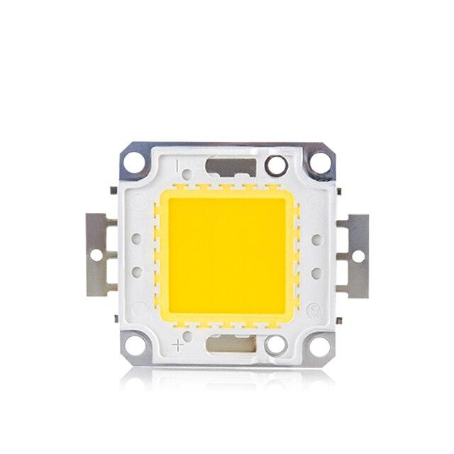 1 шт. высокое Мощность 10W 20W 30W 50W 100 Вт COB интегрированы светодио дный лампы диод чип DC 12 В 32 В для DIY прожектор лампы светодио дный бусинами