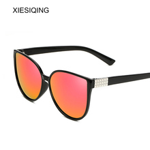XIESIQING New Oversized Cat Eye Women Sunglass