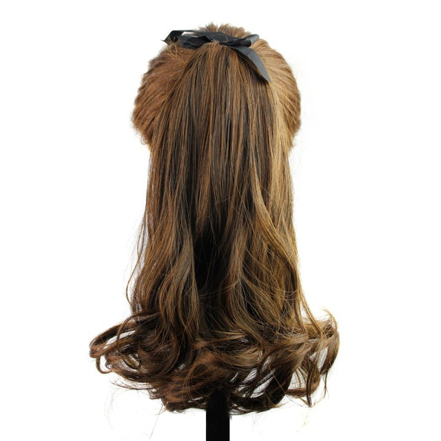 2015new Women Synthetic Hair Weave Ponytails Hairstyles Hair Pieces