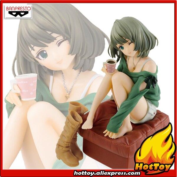 100% Original Banpresto EXQ Collection Figure - Kaede Takagaki from THE IDOLM@STER Cinderella Girls good smile1 8 the idolm ster cinderella girls rin shibuya figure new in original box