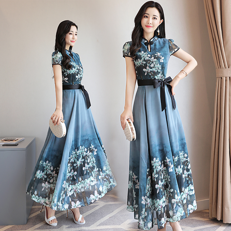 Длинные летние платья распродажа