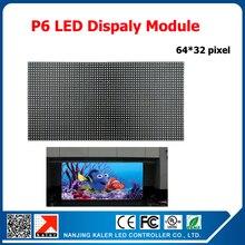 TEEHO P6 kryty SMD RGB pełny kolorowy moduł wyświetlacza LED 1/16 skanowania 384*192mm 64*32 pikseli P6 moduł LED
