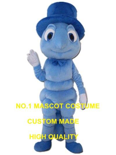 Blu zanzara costume della mascotte costume adulto dimensione