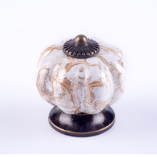 цены Kitchen Cabinet Pumpkin Knobs Drawer Knobs Pulls Handles Ceramic Porcelain Antique Bronze Decorative Hardware