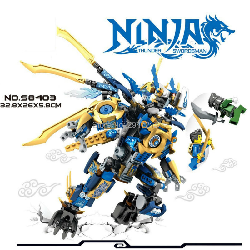 hot sembo block compatible lepin mini ninja figures with weapons Building brick Blue spirit flame Dragon Toys for children gift lepin 22001 pirate ship imperial warships model building block briks toys gift 1717pcs compatible legoed 10210