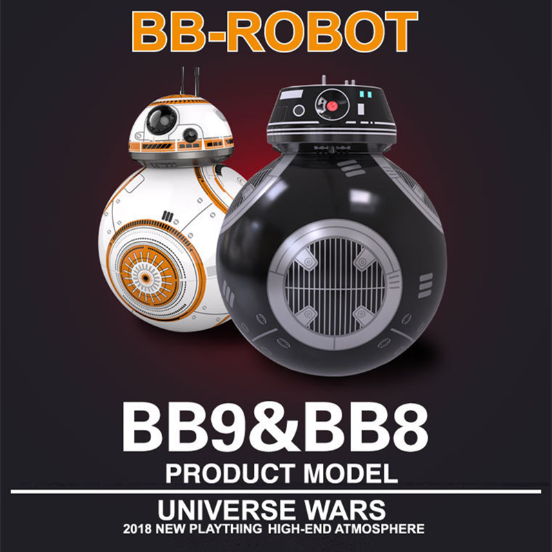 Star Sphero BB-8 Wars Remote Control Robot Ball BB-8 Droid RC BB 8 BB-9E Last Jedi Distance Control Children Educational Toys гаджет sphero 2 0 s003rw1