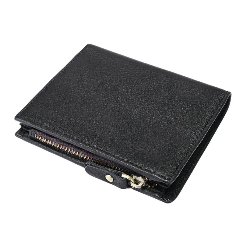 Men Wallet Billeteras Carteira Masculina Wallets cartera purse Genuine Leather Portemonnee Portefeuille Homme Purses Portfel