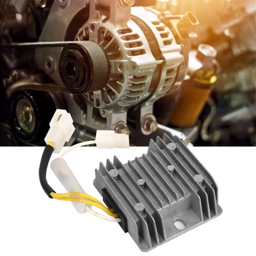 AVR Generator Automatic Voltage Regulator 186F Gasoline diesel alternator Power stabilizer Diesel Engine AC 15 35V to DC 13.5V Generator Parts & Accessories  - AliExpress