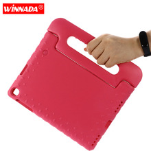 Case for Samsung galaxy Tab A 10.1 2019 SM-T510 T515 hand-held Shock Proof EVA full body cover Handle stand case for kids light weight kids case super protection cover handle stand case for kids children for samsung galaxy tab a 7 inch tablet