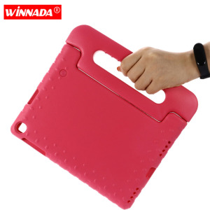 Image 1 - Case for Samsung galaxy Tab A 10.1 2019 SM T510 T515 hand held Shock Proof EVA full body cover Handle stand case for kids
