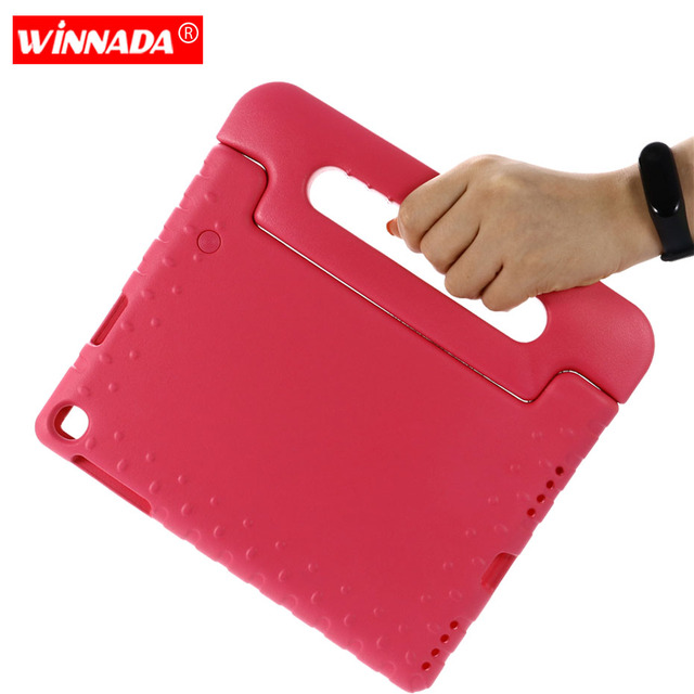 Case for Samsung galaxy Tab A 10.1 2019 SM T510 T515 hand held Shock Proof EVA full body cover Handle stand case for kids