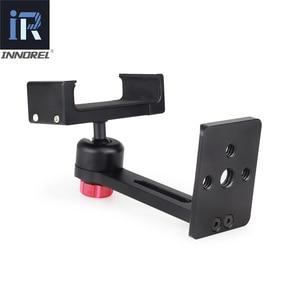 Image 4 - INNOREL PC5 Clip In Lega di Alluminio Del Metallo del Cellulare Smartphone Holder Treppiede 360 Del Telefono Mobile Regolabile Morsetto
