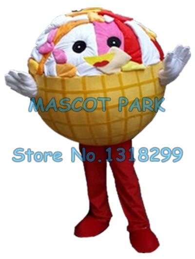 Sundae ice cream mascot costume icecream custom cartoon character cosply adult size carnival costume SW3070