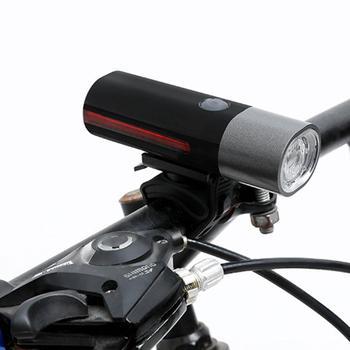 Bike Light USB Rechargeable 350 Lumen 3 Mode Bicycle Front Light lamp Bike Headlight Cycling LED Flashlight Lantern USB Charge