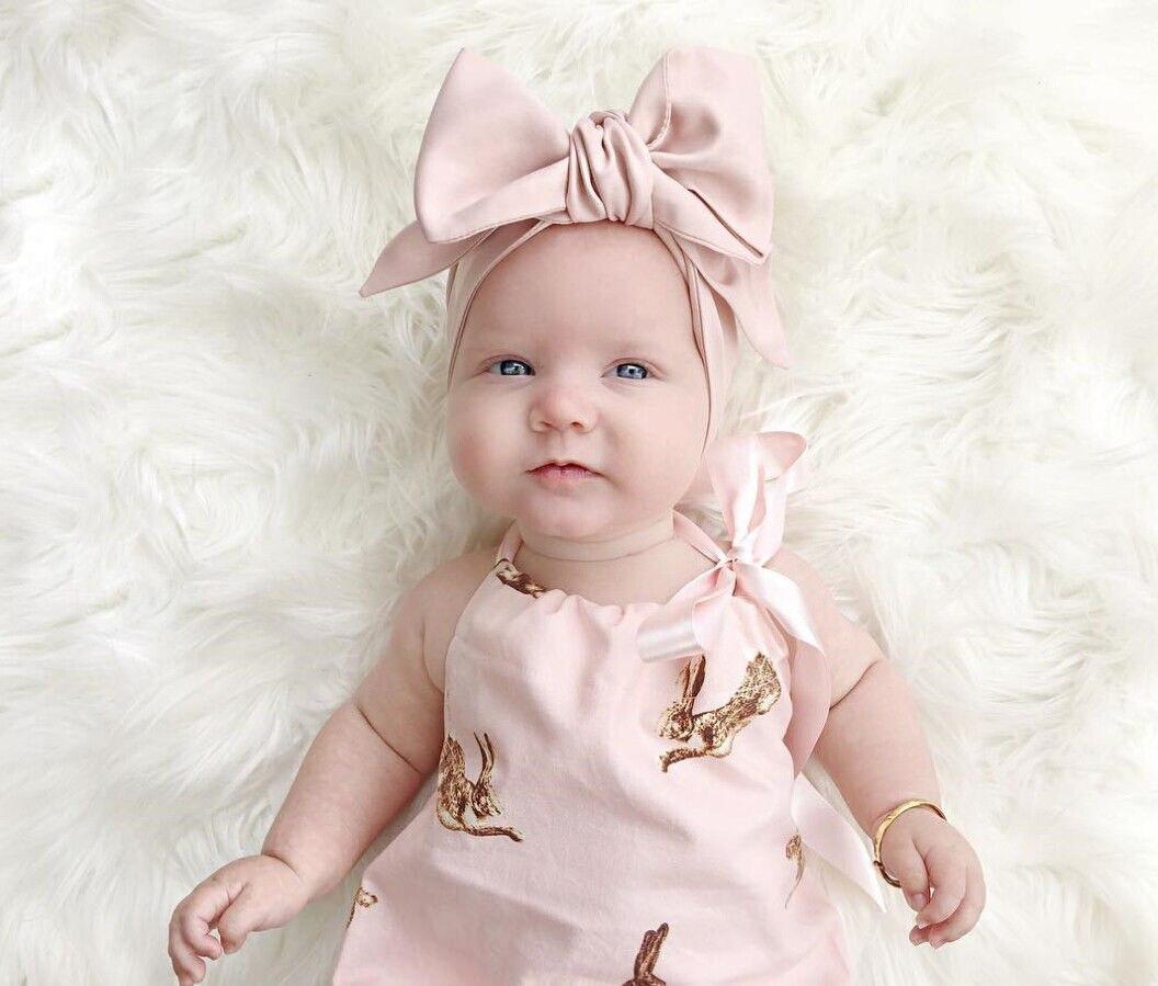 Super Meninas do bebê Roupas Para Bebês Recém nascidos Roupas Bodysuit  EV36