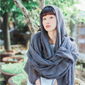 Женский хлопок Белье шарфы шаль длинный отрезок женщин шарфы Ретро Конфеты цвета шаль Wrap Дикий девушка шелковый шарф большой размер