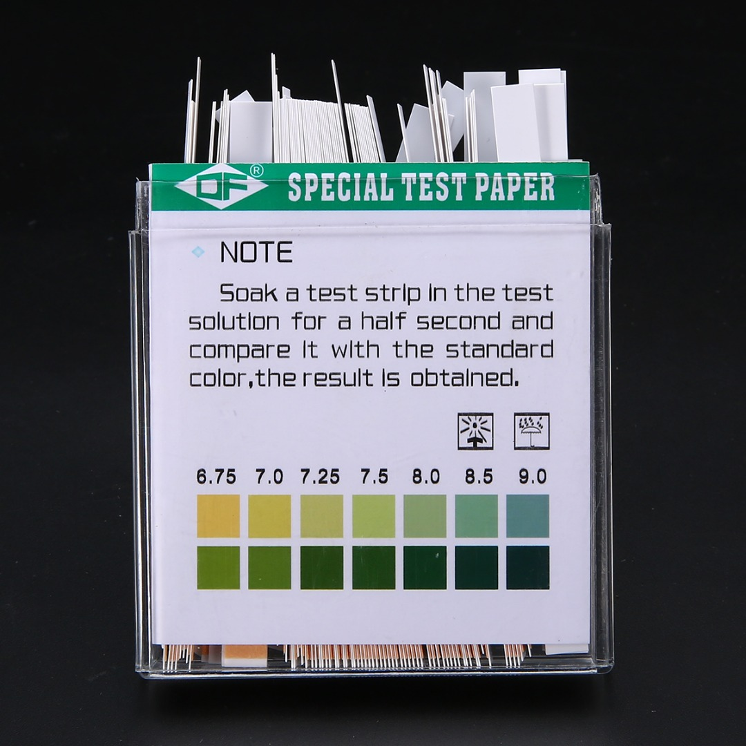 100pcs Laboratory Household PH Test Strip PH 4.5-9.0 Test Paper For Water Saliva and Urine Measuring Testing Mayitr