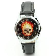 Marvel Super Hero Ghost Rider Fashion Skull Watch Wrist Xams Child Boy