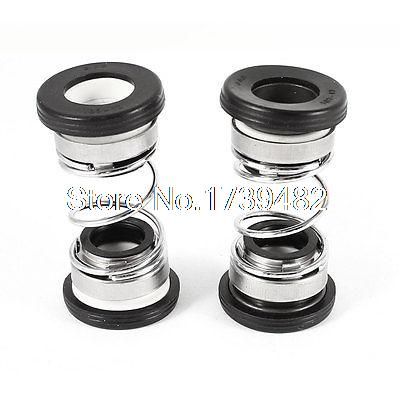 Water Pump Ceramic Ring 12mm Internal Dia Shaft Mechanical Seal 2 Pcs 108 28 28mm internal diameter mechanical water pump shaft seal