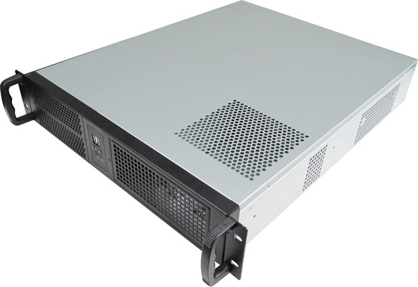 19-inch rack server Computer case 2U550mm industrial Chassis Support  pc power supply ATX motherboard pci slot new ultra short 3u computer case 38cm 8 hard drive pc large panel big power supply 3u server industrial computer case