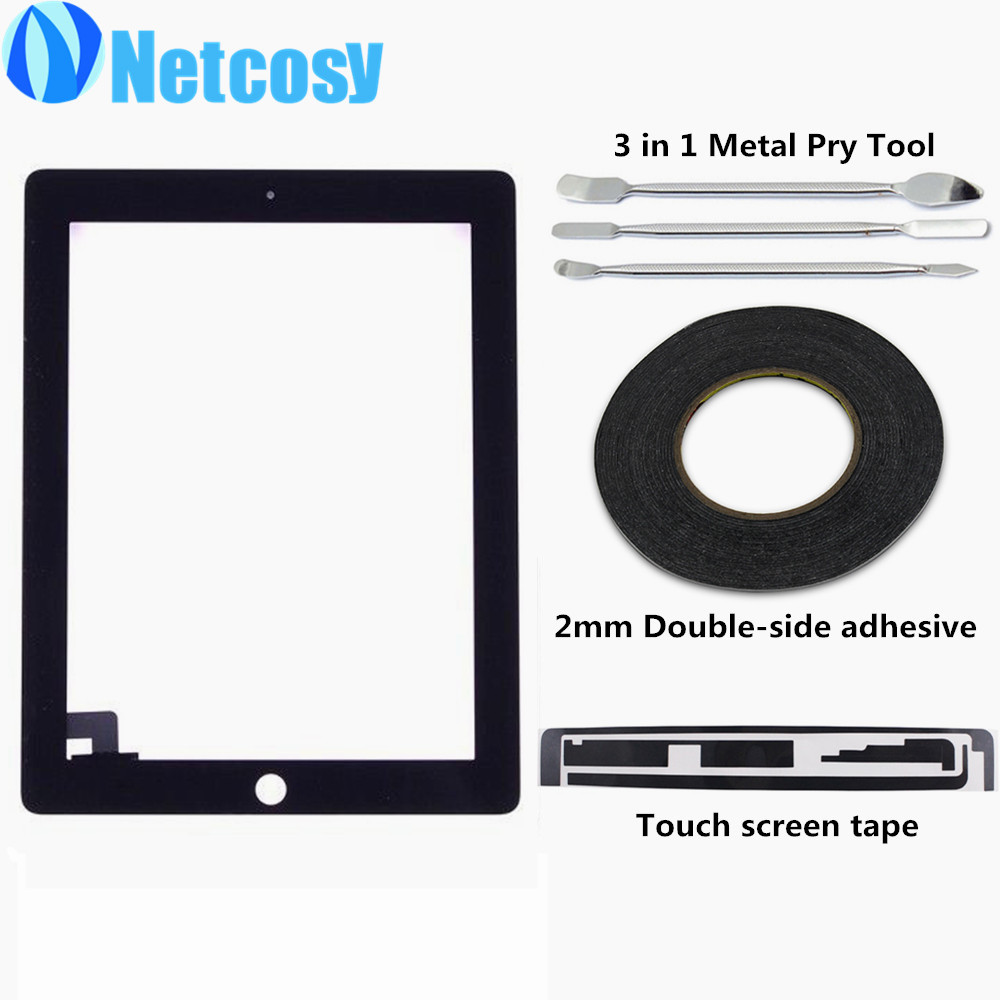 Touchscreen For ipad 2 Touch screen digitizer glass panel repair for ipad 2 Touch screen Tape