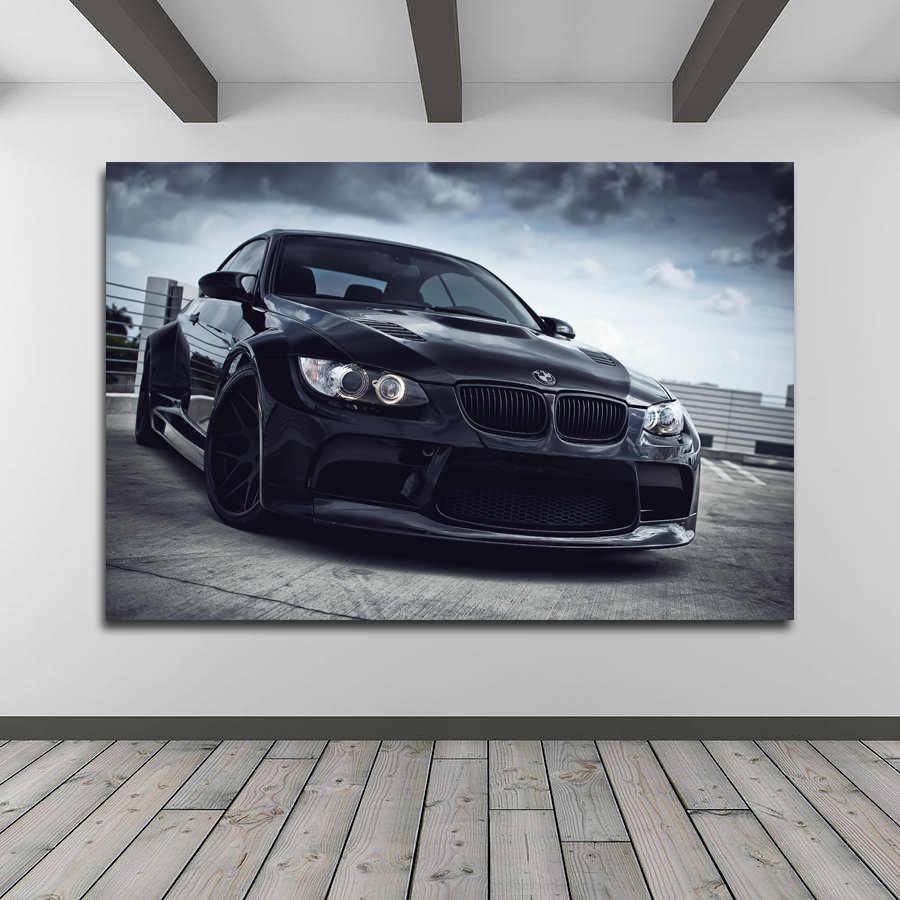 プリントウォールアート Bmw E92 M3 スーパースポーツカー壁紙キャンバスルームのインテリアのためのポスターの絵 絵画 書道 Gooum