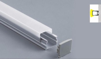 free  shipping  high quality aluminum channel for surface mounted led