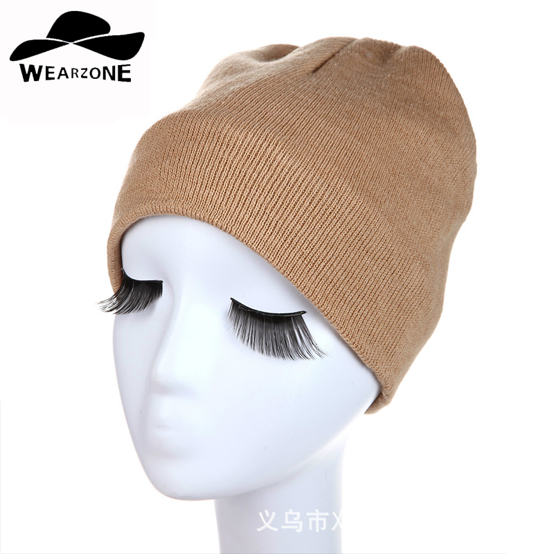 New Winter Hat Women Knitted Beanies Warm Bonnet Caps Baggy Brand Solid Thicken soft Winter Hats For Men Wool Skullies Beanie 2016 bonnet beanies knitted winter hat caps skullies winter hats for women men beanie warm baggy cap wool gorros touca hat