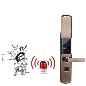 Image 3 - Numérique Semicondu Empreintes Digitales Intelligente Serrure Biométrique Dempreintes Digitales Électronique Serrure De Porte Automatique Pour La Maison Avec Mot de Passe Carte Déverrouiller