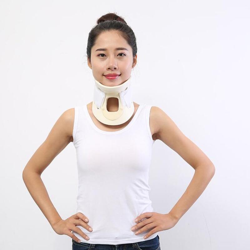 Breathable Neck Brace Medical Cervical Collar Neck Support Immobilizer Vertebra Neck Pain Relief Neck Tractor Orthosis Braces