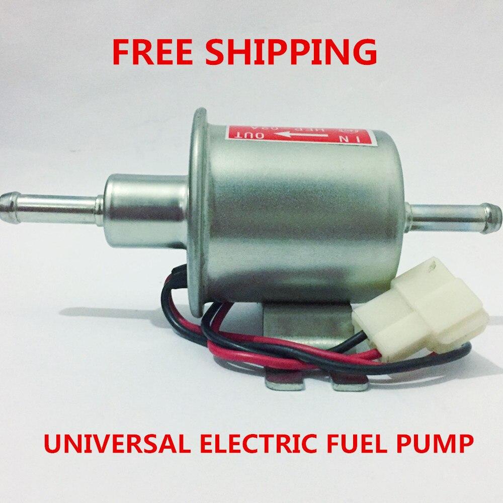Universale diesel benzina benzina 12 v pompa elettrica del carburante HEP-02A bassa pressione Per la maggior parte auto Carburatore Del Motociclo ATV