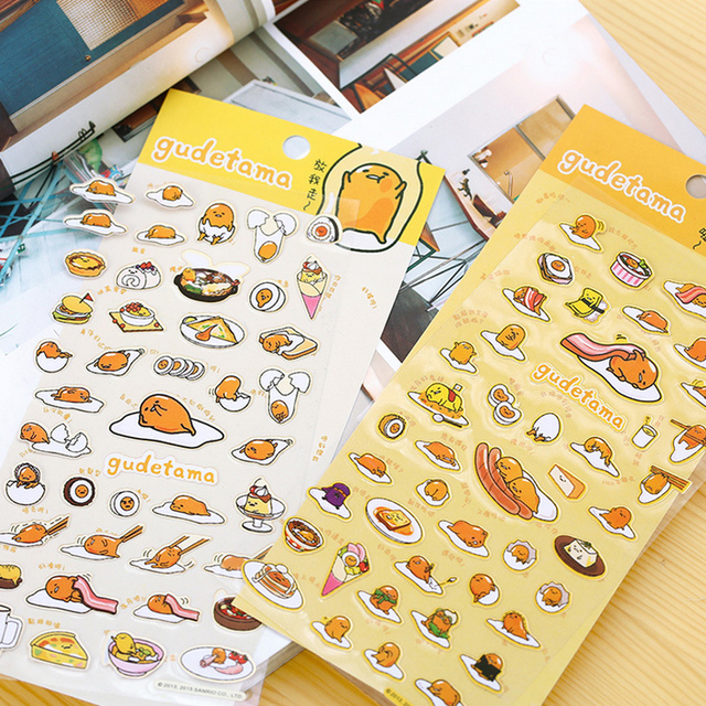 DIY Kawaii Scrapbooking Stickers