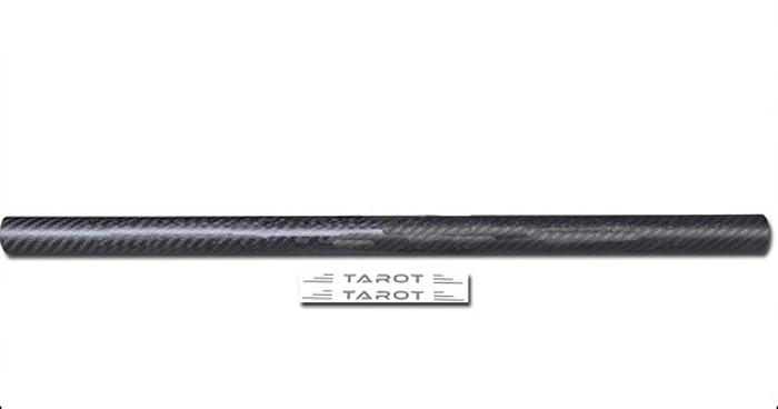 F05521 Tarot 423.5MM Dia 25mm 3K Carbon Fiber Tube Boom TL96012 For Rack-mounted T960 Frame Kit
