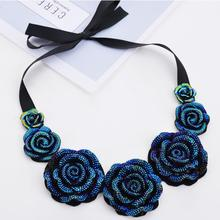 Free Shipping! 2013 Fashion Join Hands Palm Slim Punk Short Necklace Souvenir for Women Jewelery